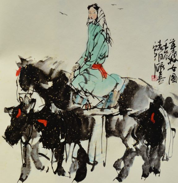 无怪乎他的老师刘文西和刘大为都异口同声地给予了充分肯定,称他的