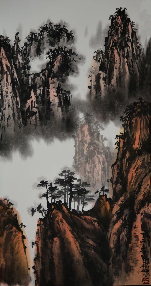 壁纸 风景 国画 600_1137 竖版 竖屏 手机