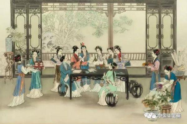 上海金仕堡_陈湘金受邀参加丹青盛会—2019迎新春中国工笔画学会邀请展-画家