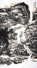 溪山存雪意
