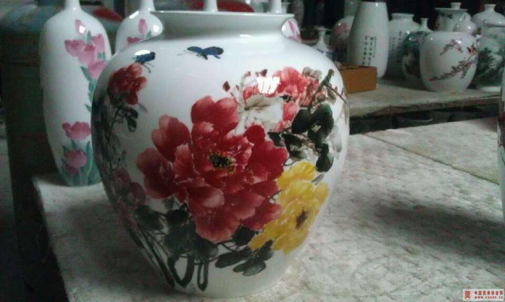 张惠民陶瓷画作品